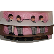 """Very Rare Madame Alexander The BEATLES ROCK N' ROLL GROUP 8"""" doll set - Red Tag Sale Item"""