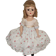 """Gorgeous Vintage Rare Madame Alexander """"Madelaine"""" Wendy Face In NM Condition 14"""" Circa 1950's"""