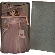 "Gorgeous Madame Alexander ""ELISE"" doll In Original Box 17"" Tall Circa 1961"