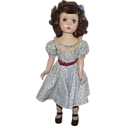 "Vintage Gorgeous Madame Alexander Doll ""BINNIE WALKER"" In Original Tagged Outfit 18"" Circa 1953 (C)"