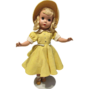 """Gorgeous Vintage Madame Alexander """"Maggie Teen Doll"""" In Original Tagged Outfit  14"""" Circa 1948"""