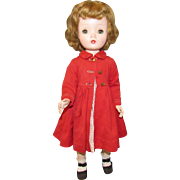 "Vintage Gorgeous Madame Alexander Doll ""BINNIE WALKER"" In Original Tagged Outfit 18"" Circa 1953"
