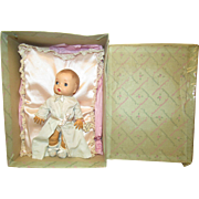 "Vintage Madame Alexander ""Sunbeam Baby"" In Original Box With Original Wrist Tag"