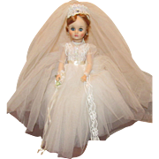 "Madame Alexander Stunning ""Elise Bride Doll"" 18"" In Tagged Gown"