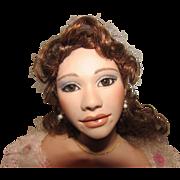 "Stunning OOAK artist doll ""Christine from the Phantom of the Opera"" Artist Margie Herrera"