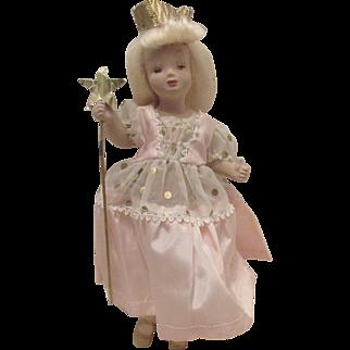 "Vintage Margit Nilson Rare ""Thumbs Up Doll"" In Original Outfit 7 1/2"" Circa 1941"