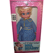 "MIB Vintage Original 1966 ""Talking Mrs. Beasley doll"" By Mattel"