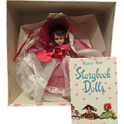 """Vintage Nancy Ann Storybook Doll All-Time Hit Parade SeriesFamily Series """"Let Me Call You Sweetheart #408"""" In Original Box"""
