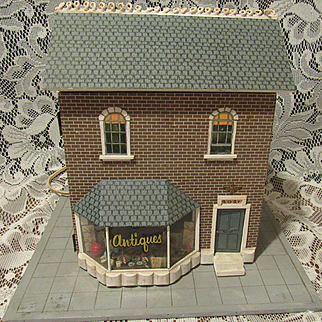 Old Antique Two Level Store With Six Rooms Filled With Wonderful Miniatures