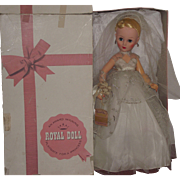 """Mint In Box """"Royal Lilo Fashion Doll"""" In Original Outfit 20"""" Circa 1950's - Red Tag Sale Item"""