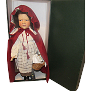 "R. John Wright ""Little Red Riding Hood"" In Original Box 20"""