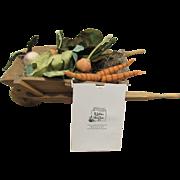"R. John Wright Mint In Box  Limited Edition of 500 Rare ""Garden Wheelbarrow"""