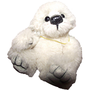 "Sweetest 3.5"" Miniature Mohair Teddy Bear ""Cotton Candy"" Artist Bear"