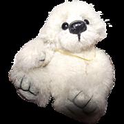 "Sweetest 3.5"" Miniature Mohair Teddy Bear ""Cotton Candy"" Artist Bear"