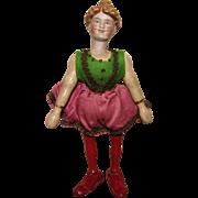 Wonderful Schoenhut Bisque Head Lady Rider From The Schoenhut Circus