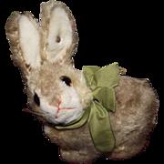 "Steiff Vintage Mohair ""Sitting Rabbit"" 7"" Circa 1950's"