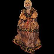 "Vintage Stunning 1920's Boudoir Doll 32"""