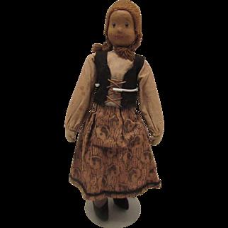 """Wonderful Early Wood Doll 11"""" Wood Doll"""