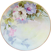 "H.P. Paul Putzki Pastel Floral ""O.&E.G. Royal Austria"" Plate - Red Tag Sale Item"