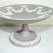 Wedgwood Jasperware Lilac Footed Compote
