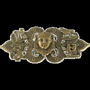 Egyptian Brass Belt Buckle