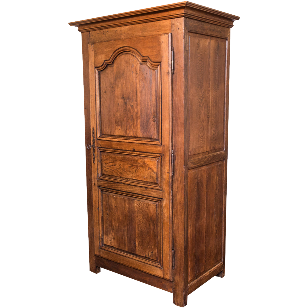 louis xiv armoire bonnetiere pegged france c 1720 from. Black Bedroom Furniture Sets. Home Design Ideas