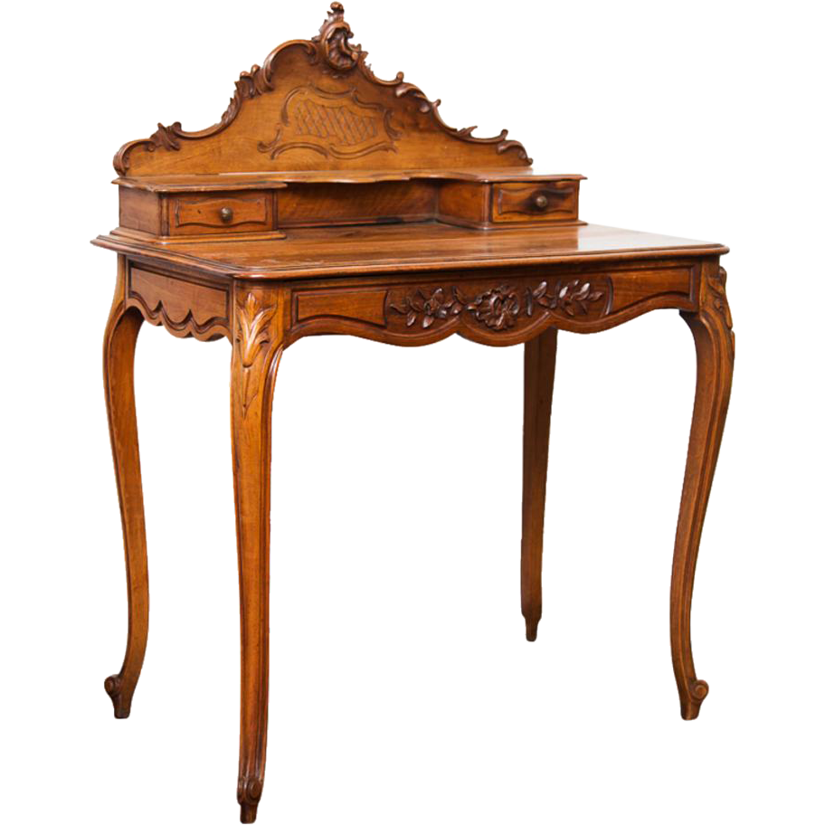 Ladies Writing Desk ~ Antique french lady s writing desk from
