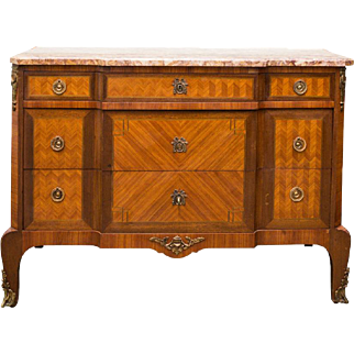 Antique French Louis XV Style Dresser