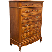 Louis XV Style Dresser Chiffonier Marquetry France C. 1900
