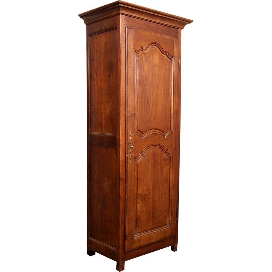 louis xv bonnetiere armoire 4 shelves c 1750 maison d cor french antiques ruby lane. Black Bedroom Furniture Sets. Home Design Ideas