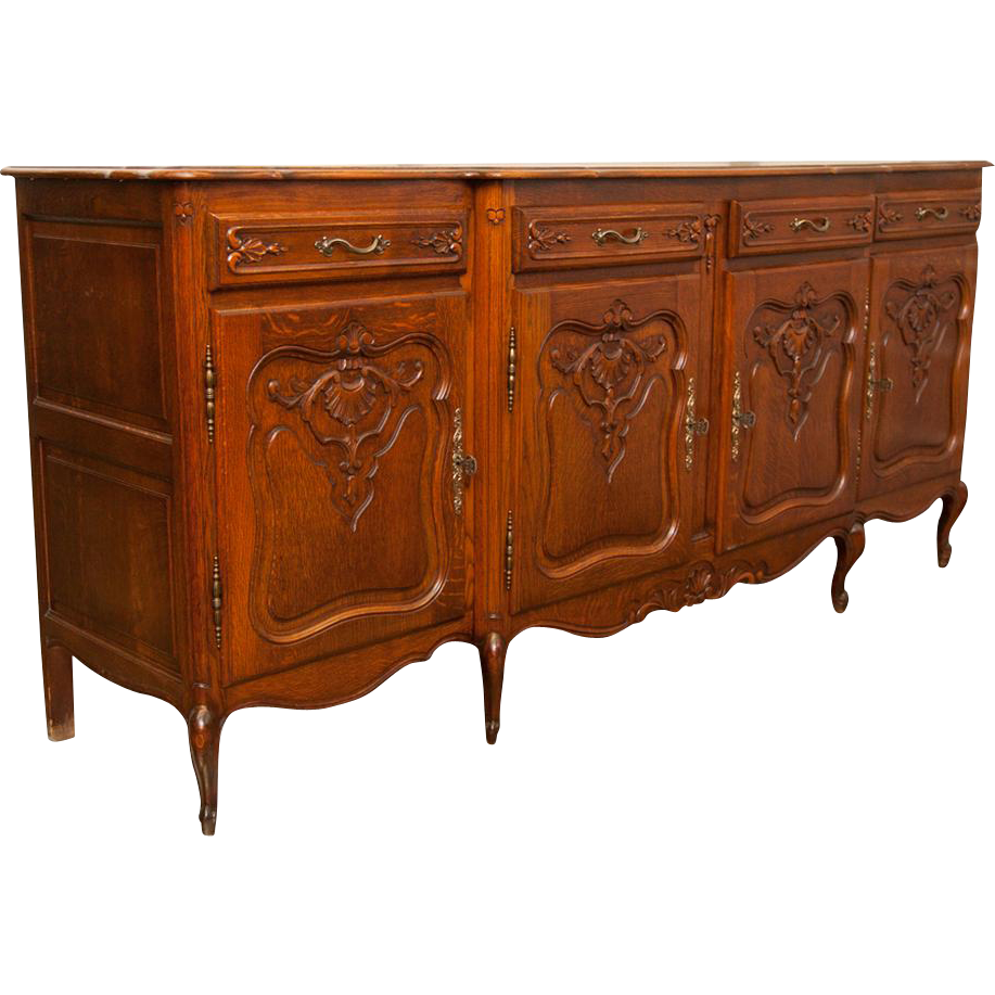 french oak vintage sideboard from maisondecorantiques on ruby lane. Black Bedroom Furniture Sets. Home Design Ideas