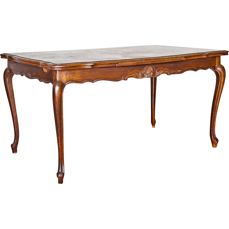 Vintage louis xv style dining table from - Table de chevet louis xv ...