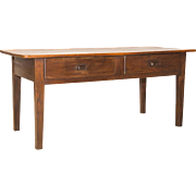 Early 19th Century Cherry Console Table with Drawer