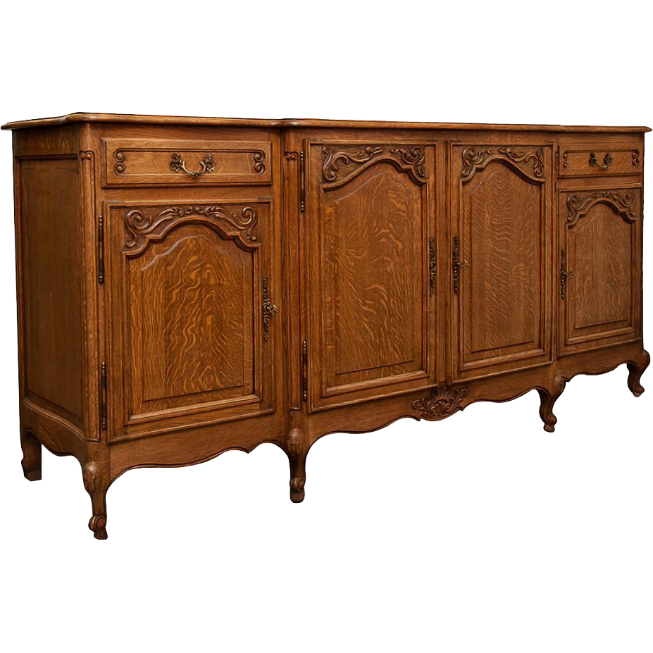 vintage french sideboard buffet from maisondecorantiques on ruby lane. Black Bedroom Furniture Sets. Home Design Ideas