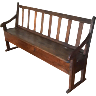 18th Century French Transit Bench