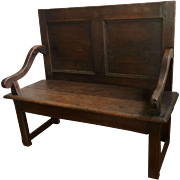 18th Century French Settle Bench