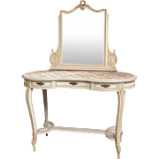 Vintage Vanity with Mirror from Belgium