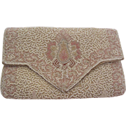 Intricate Beaded Evening Bag, Made in France, c. 1910-1920