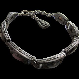 MIRACLE Scottish Type Coloured Stones Bracelet