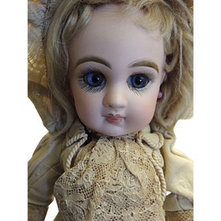"Stunning 14 "" All original Tete Jumeau Doll"