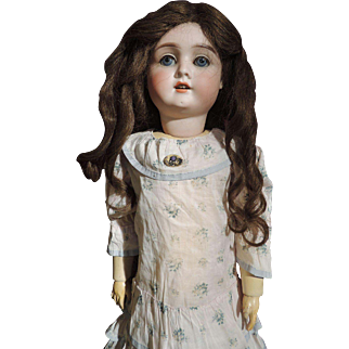 """24"""" Incised German Family Doll."""