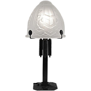French Art Deco Table Lamp by SEVB and FAG 1925