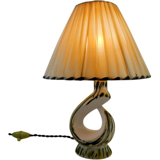 French Vintage Table Lamp 1950s From Adcgl On Ruby Lane