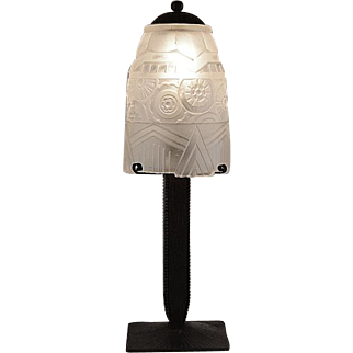 French Art Deco Table Lamp 1925