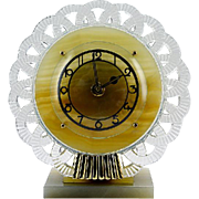 Bayard French Art Deco Clock late 1930