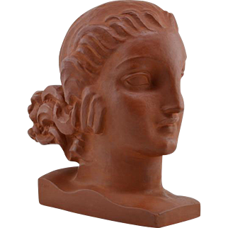 LEJAN French Art Deco Terracotta 1920s
