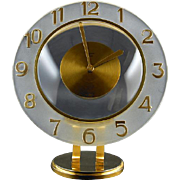 BAYARD French Art Deco 8 Day Clock late 1930s