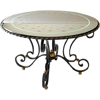 Raymond SUBES and Max INGRAND French Art Deco Coffee Table 1935-1940