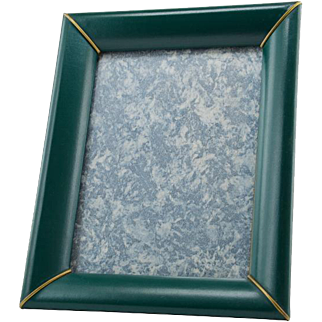 French Mid-Century Faux Leather Photo-frame 1960s