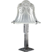 FAG Large French Art Deco Table Lamp 1925